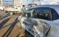 Road crash at an intersection in Isando