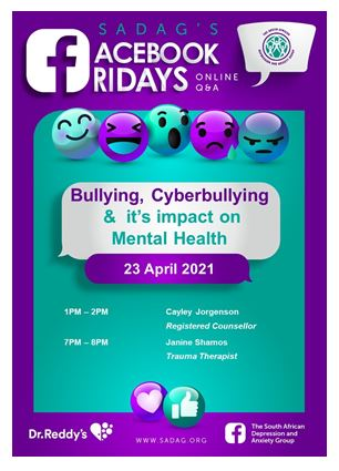 Online Chat about Bullying, Cyberbullying and its impact