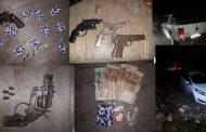 Seven firearms and three vehicles recovered provincial vehicle team