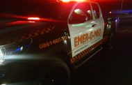 Fortunate escape from injury in a single vehicle rollover in Sandton
