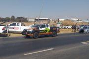 Vehicle collision in Modderfontein