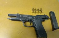 Police members bust suspects in possession of unlicensed firearms and ammunition