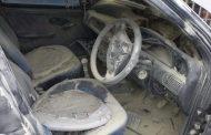 Vehicle catches alight in Verulam CBD